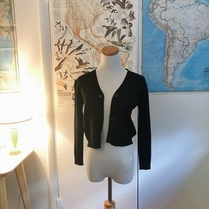 Sweaters - little black cardigan